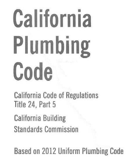 California Plumbing Code – PEX (Part 1)