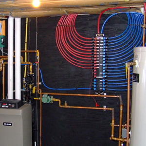 Pex tubing tools and installation practices super for Pex hot water heating system