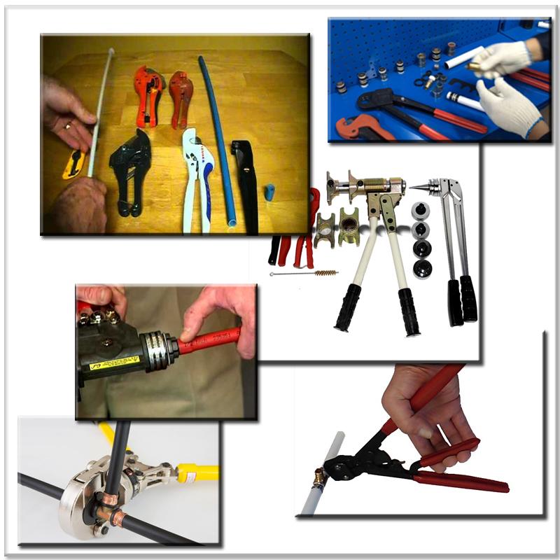pex tubing - tools and installation practices - super mario repipe