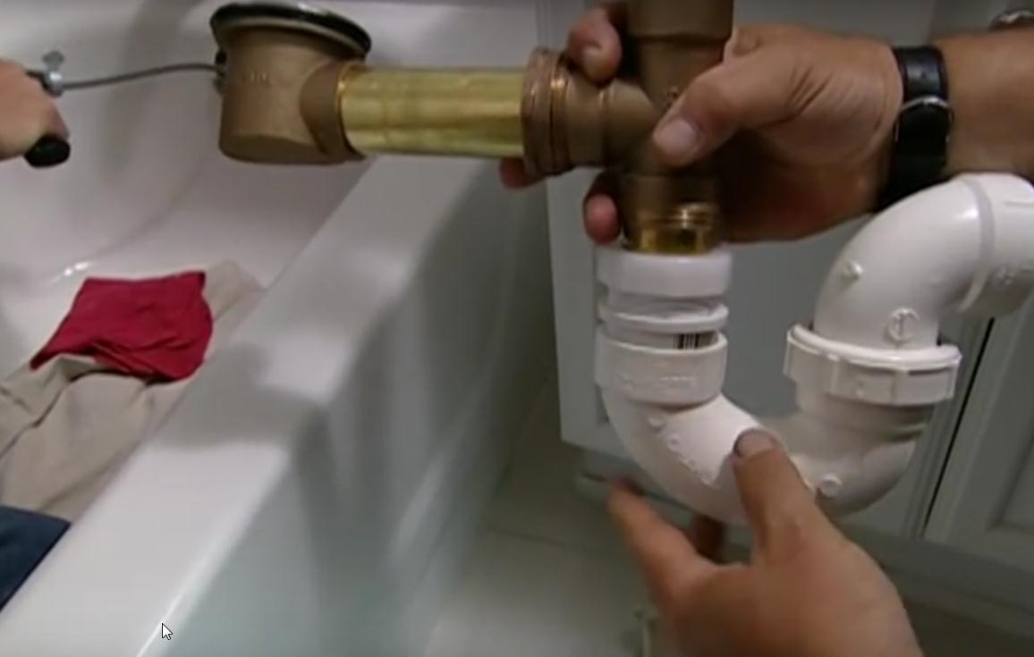 HOW TO SNAKE OUT CLOGGED BATHTUB Super Mario Plumbing - Kitchen sink snake